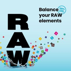 Balance Your RAW Elements Social Image