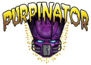 Purpinator Logo Product Header